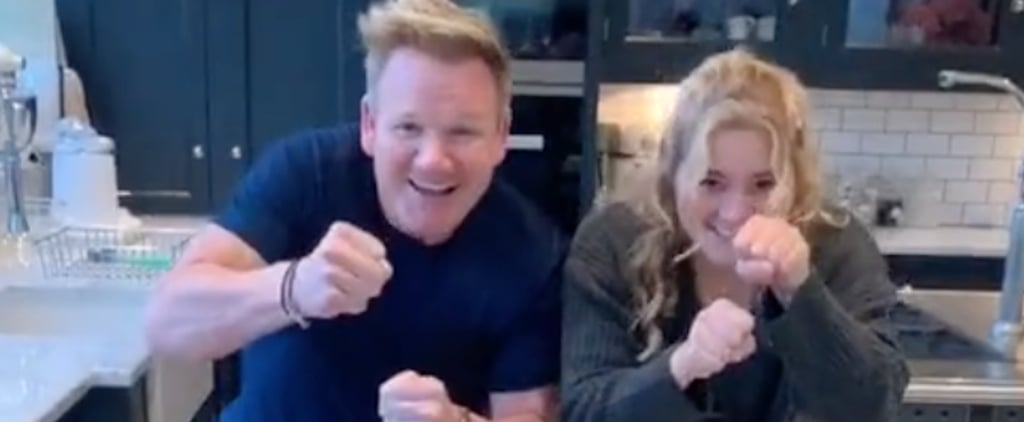 Watch Gordon Ramsay and His Daughter Tilly's TikTok Videos
