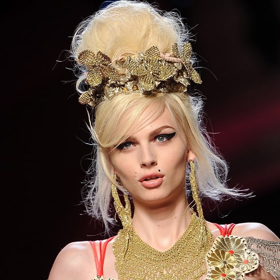 Models Fashioned Into Amy Winehouse at the Jean Paul Gaultier Couture Show