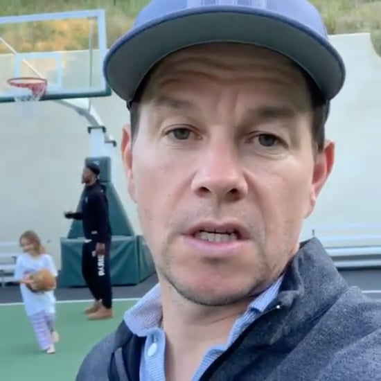 Mark Wahlberg's Daughter Playing Basketball Video
