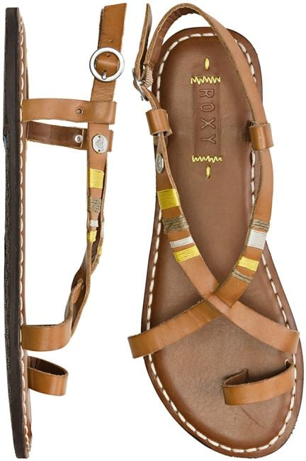 We love the subtle colorblock details on the straps of these sandals.  Roxy Mojito Sandal ($46)