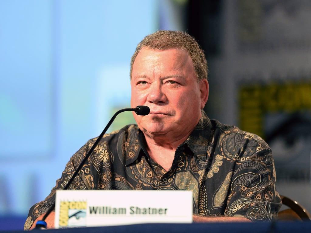 William Shatner attended a panel for Comedy Legends of TV Land.