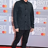 Johnny Marr at the 2020 BRIT Awards in London