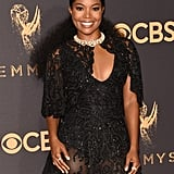 Gabrielle Union Hair at the 2017 Emmys