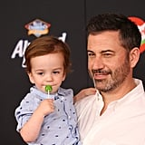 Jimmy and William Kimmel at the Toy Story 4 Premiere