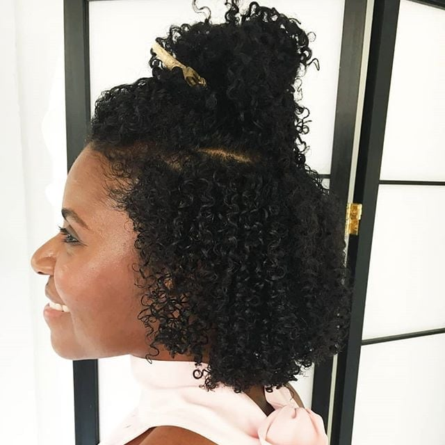 How To Style A Curly Bob Haircut Popsugar Beauty