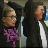 Ruth Bader Ginsburg Working Out With Stephen Colbert Video