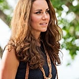 Kate Middleton's Natural Waves, 2012