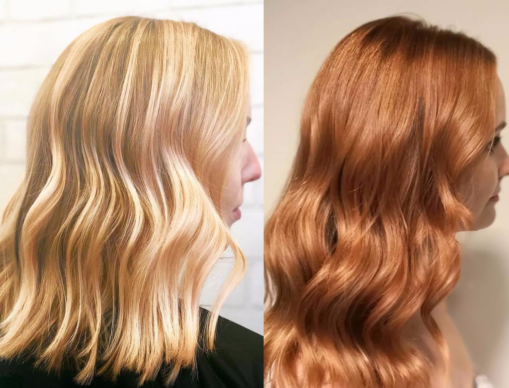 Gold Hair Colour Trend