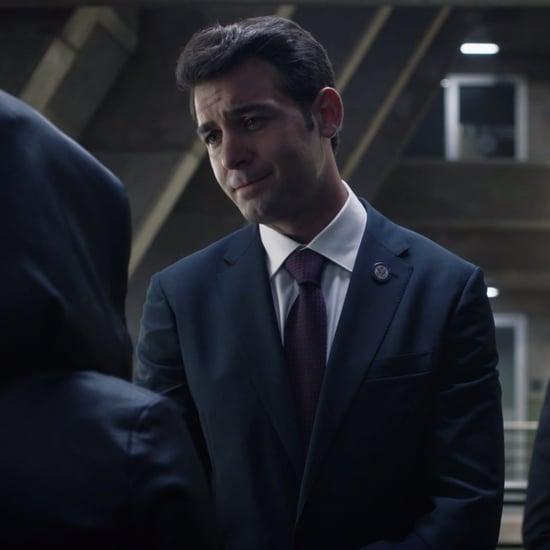 Is Senator Keene Seventh Kavalry on Watchmen?