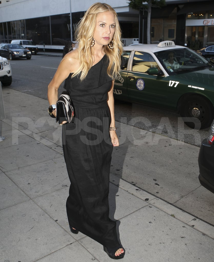 Rachel Zoe looking stylish in LA.