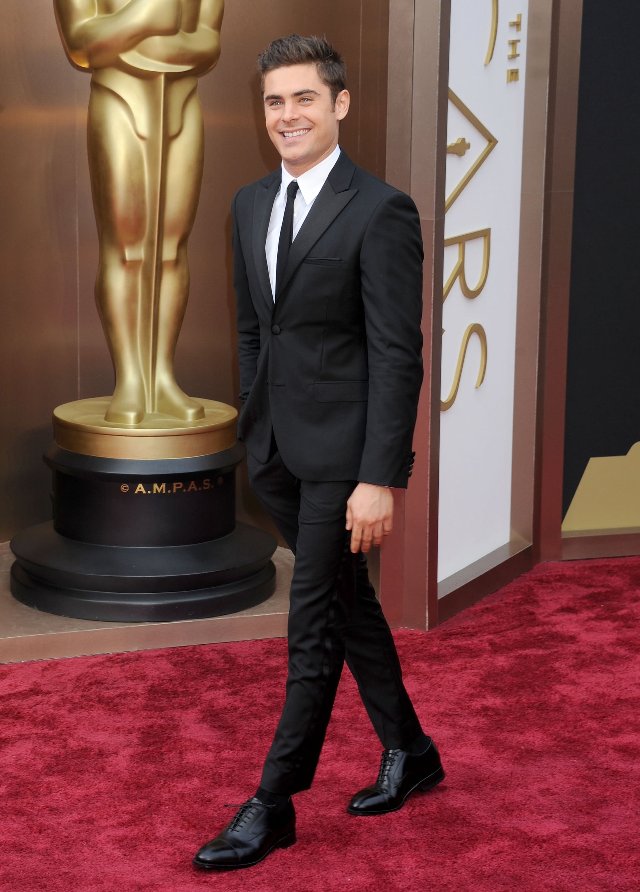 Though when he dressed up for the Oscars, we crushed even harder.