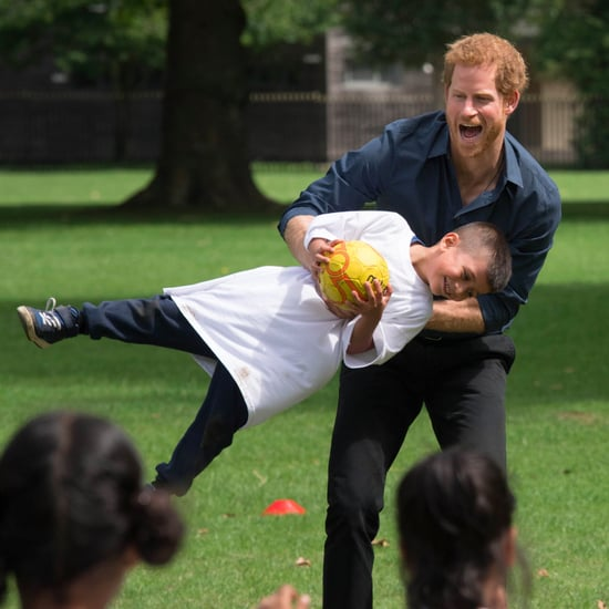 Prince Harry at StreetGames's Fit and Fed in London 2017