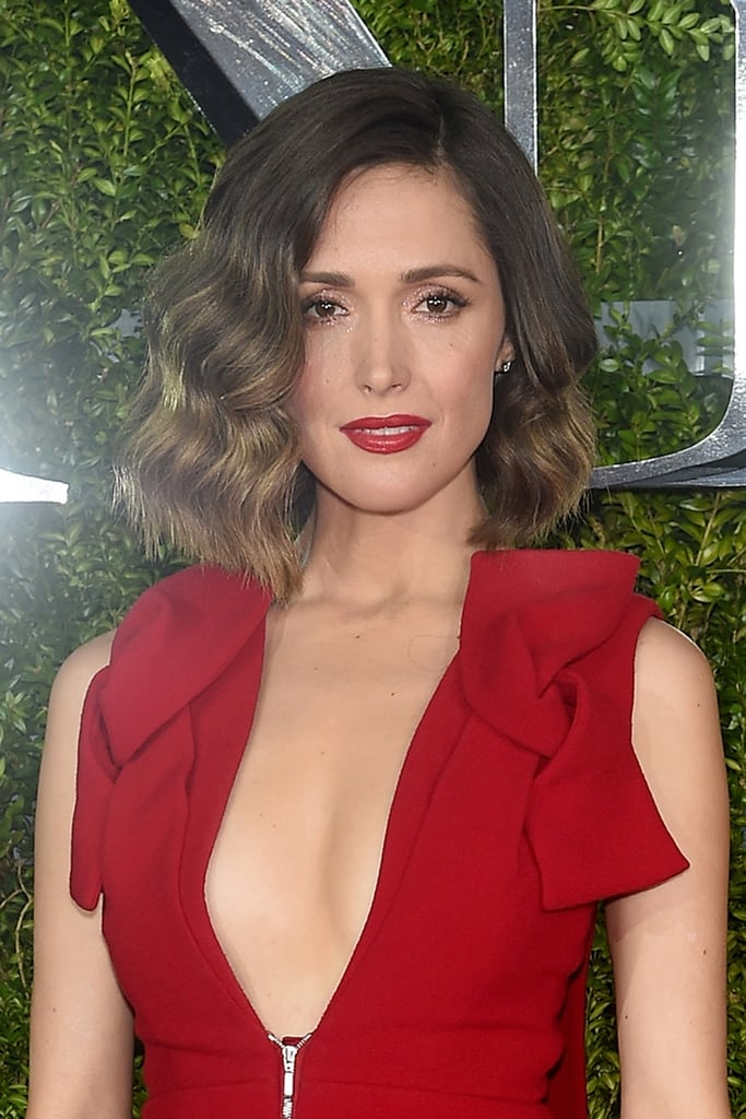 Pictures of rose byrnes hair and makeup looks popsugar beauty june 2015 tony awards urmus Choice Image