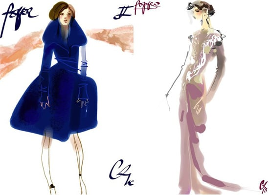 LaCroix Designs for Berlin Opera Stage Costumes