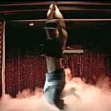 Blink and you might miss Channing Tatum's spin move.