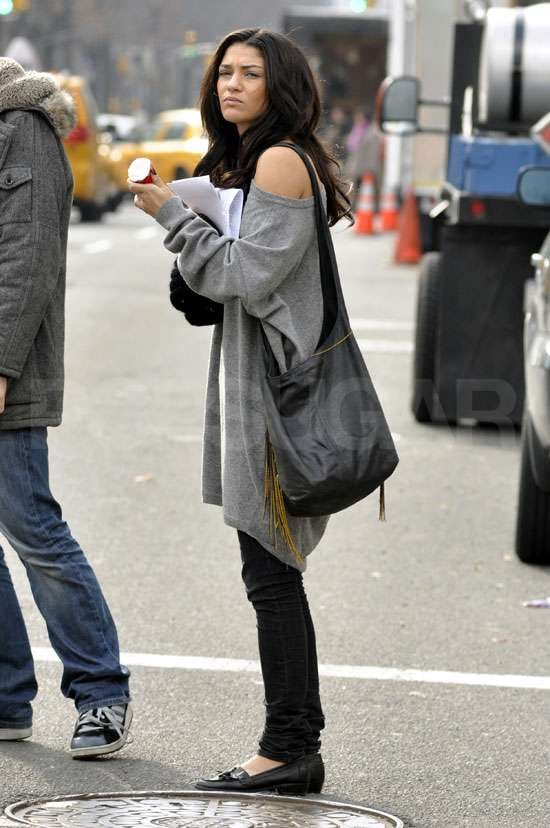 Photos on Gossip Girl Set