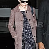 Michelle Williams touched down in NYC.