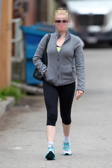Blond Actress Leaving the Gym | Picture