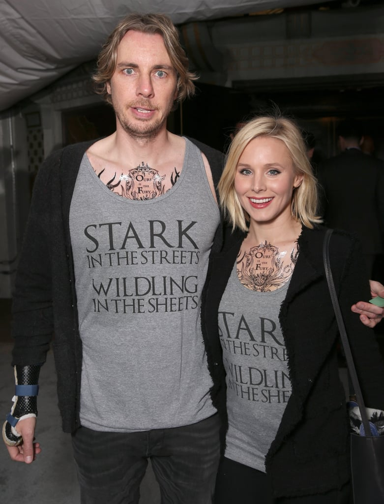 In April 2016, the two showed off their intense love for Game of Thrones at the show's season six premiere in LA.
