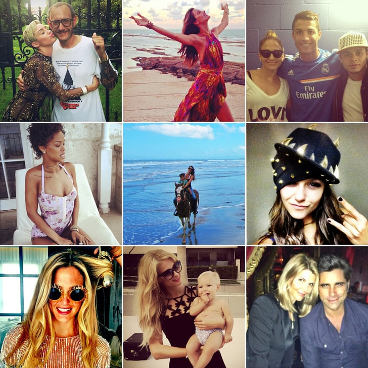 Sunsets, Photo Shoots, and More of the Week's Cute Celebrity Candids