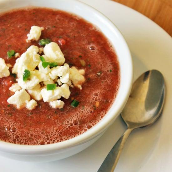 Healthy Soup Recipe: Watermelon and Jalapeño Gazpacho