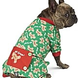 PetRageous Designs Oh Snap! Gingerbread Dog Pajamas