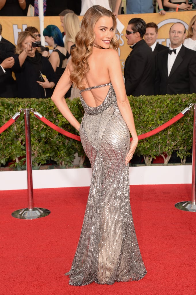 At the 2014 Screen Actors Guild Awards, Vergara proved she's got moves we've never seen in Donna Karan Atelier.