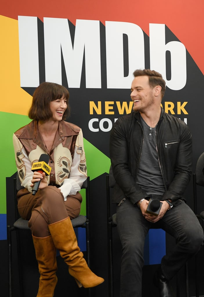Sam Heughan and Caitriona Balfe's Cutest Pictures | POPSUGAR