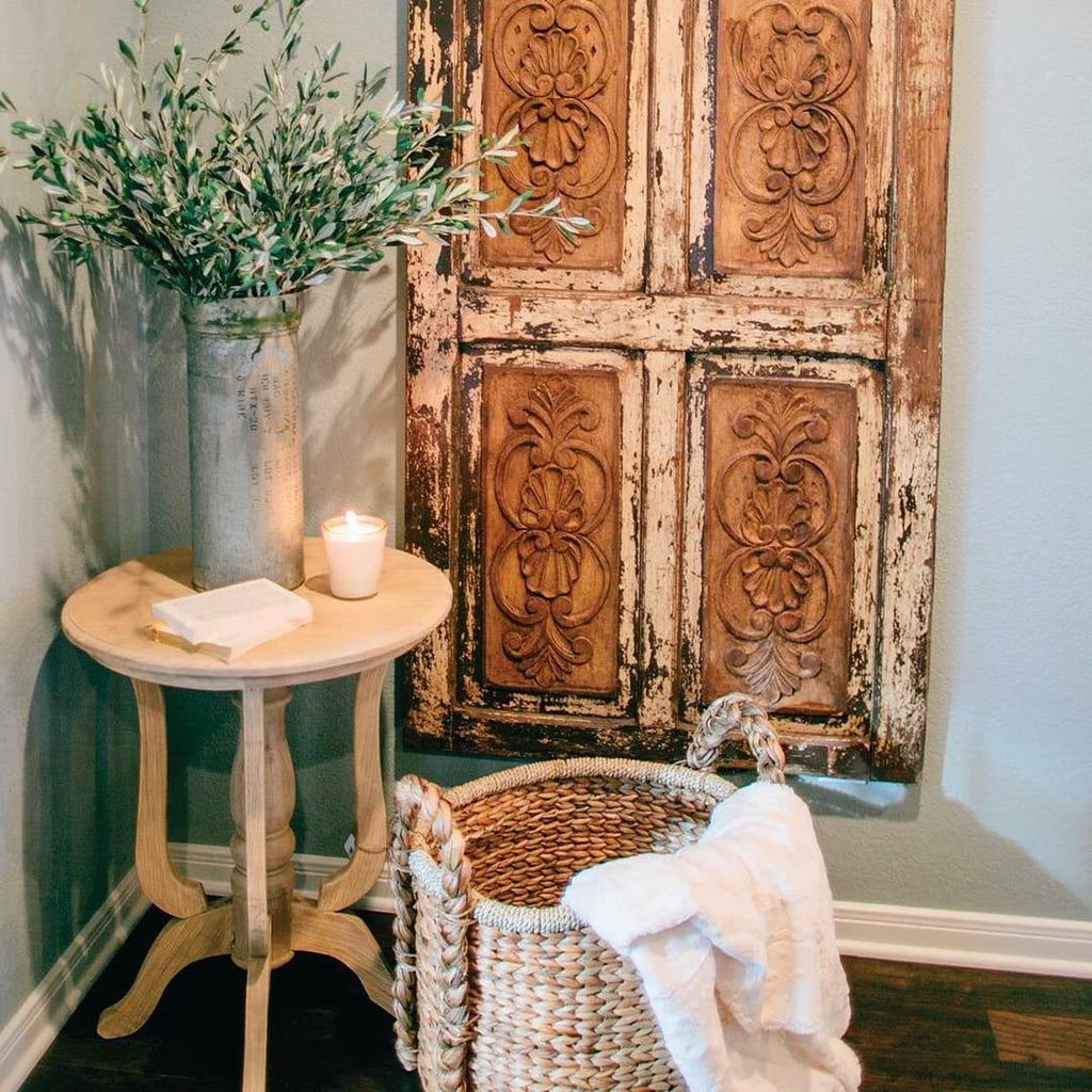 Ideas For Decoration: Old Door Panels Add Texture To Your Walls