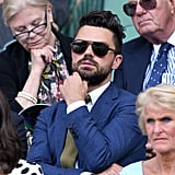 Dominic Cooper at Day 1 of Wimbledon