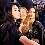 Pictured: Ming Xi, Gigi Hadid, and Kendall Jenner