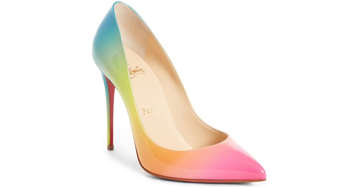 4498e52b0ca Christian Louboutin Rainbow Pigalle Follies Pumps | Rainbow Shoes ...