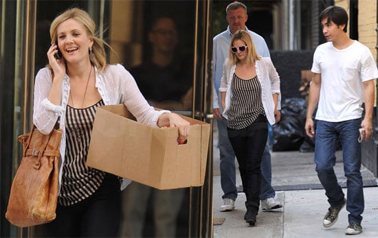 Photos of Drew Barrymore Filming Going the Distance With Justin Long