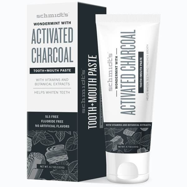 Schmidt's Wondermint With Activated Charcoal