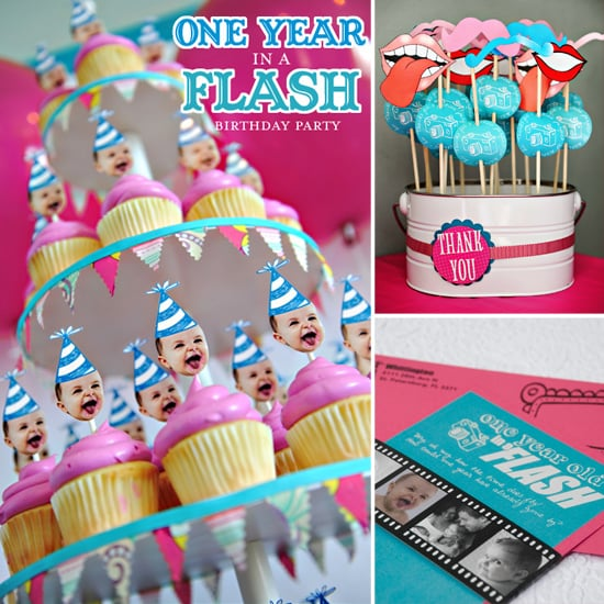One Year in a Flash: A First Birthday Party