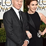 Patrick Stewart and Sunny Ozell