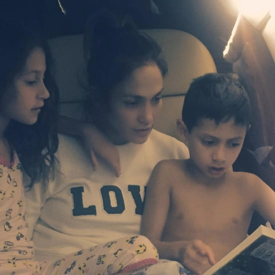 Jennifer Lopez With Her Kids Instagram October 2016