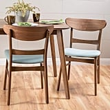 Christopher Knight Home Idalia Walnut Finish Dining Chair