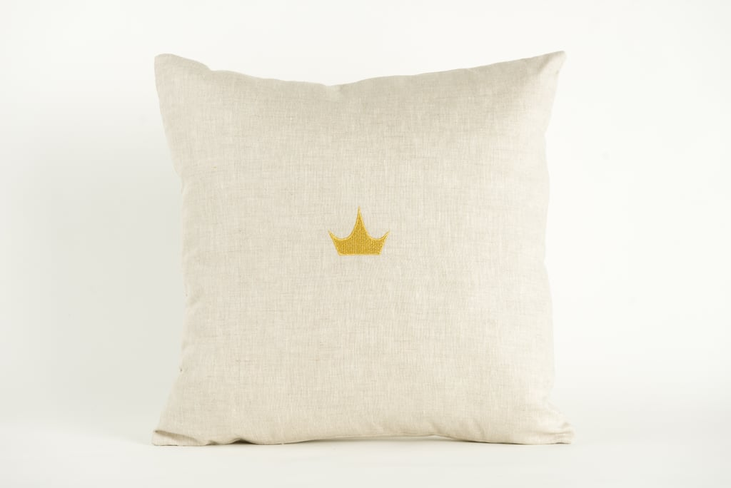 Disney Princess X POPSUGAR Crown Decor Pillow