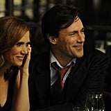 Kristen Wiig and Jon Hamm in Friends With Kids. Photo courtesy of Roadside Attractions