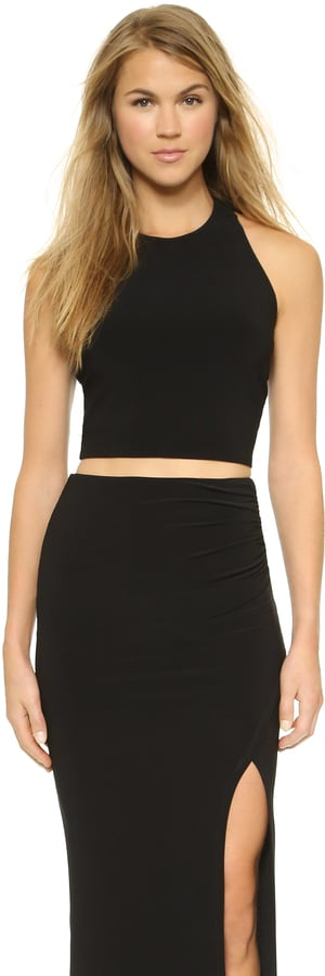 AIR by Alice + Olivia T Back Crop Top ($176)