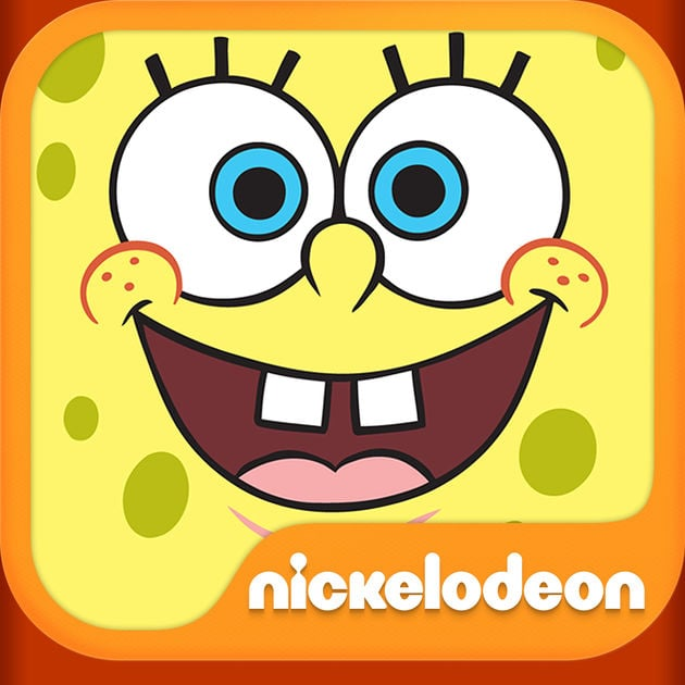 SpongeBob Tickler app