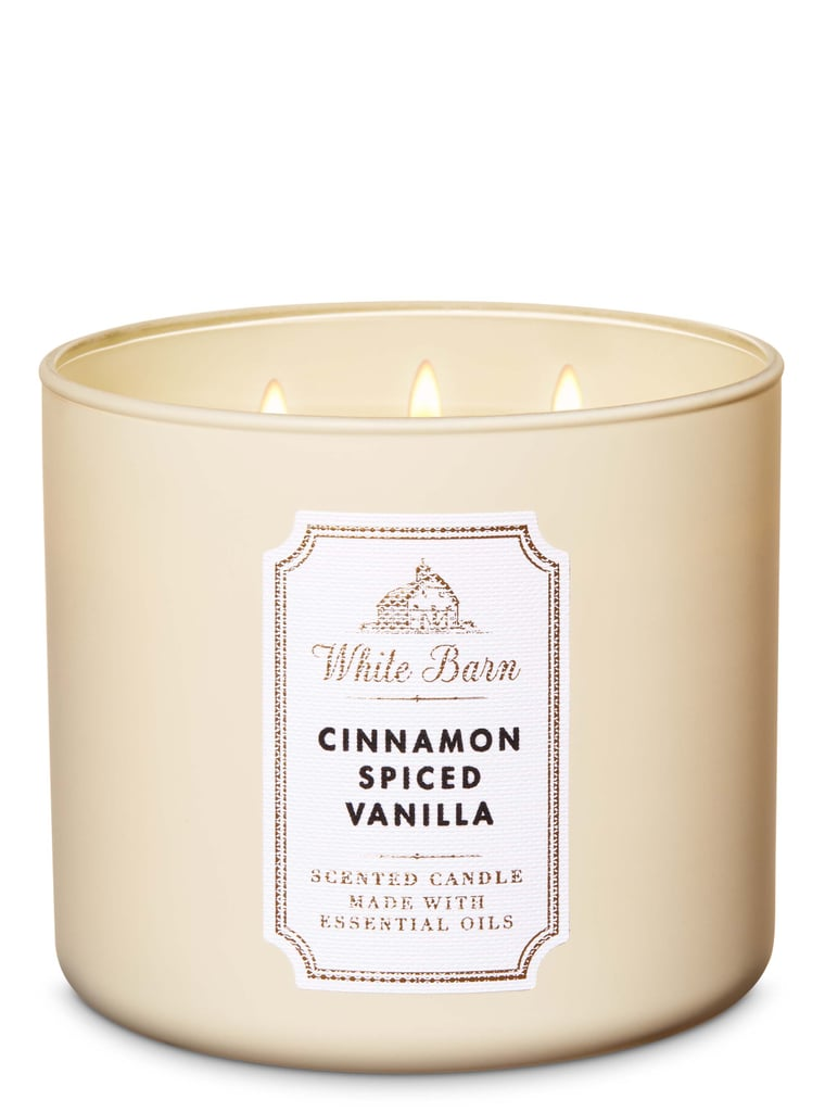 Bath and Body Works  Cinnamon Spiced Vanilla 3-Wick Candle