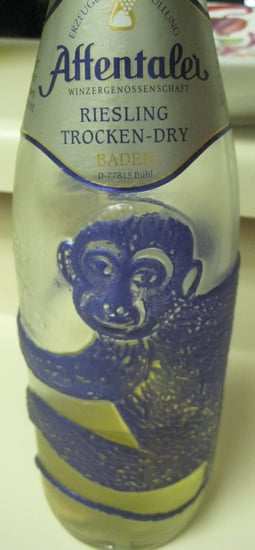 Happy Hour: 2006 Affentaler Blue Monkey Riesling