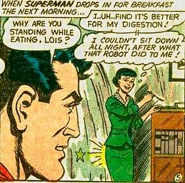 What did that robot do to Lois?