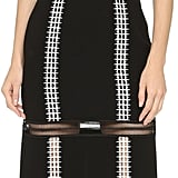 Jonathan Simkhai Crepe Lace Up Dress ($765)