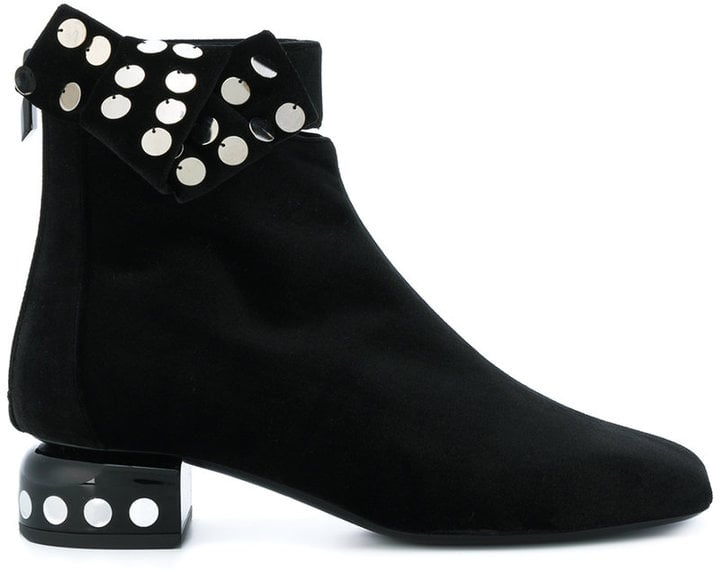 Pierre Hardy Polka Dot Sequin Boots