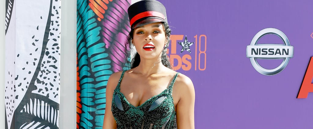 Janelle Monae Rainbow Dress at the BET Awards 2018