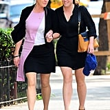 Sarah Ferguson and her daughter Princess Eugenie met up for an NYC lunch on Wednesday.