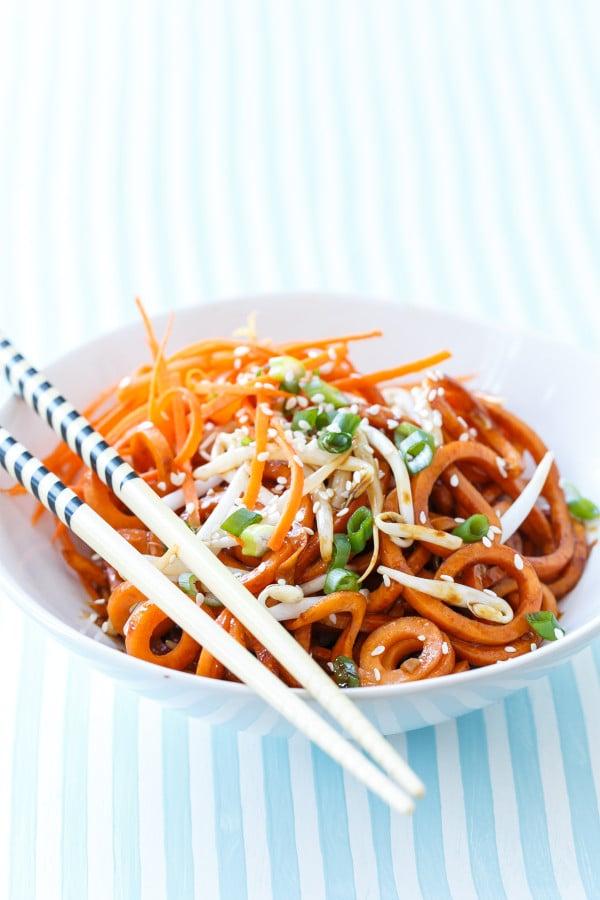 Soy Sauce Sweet Potato Noodles